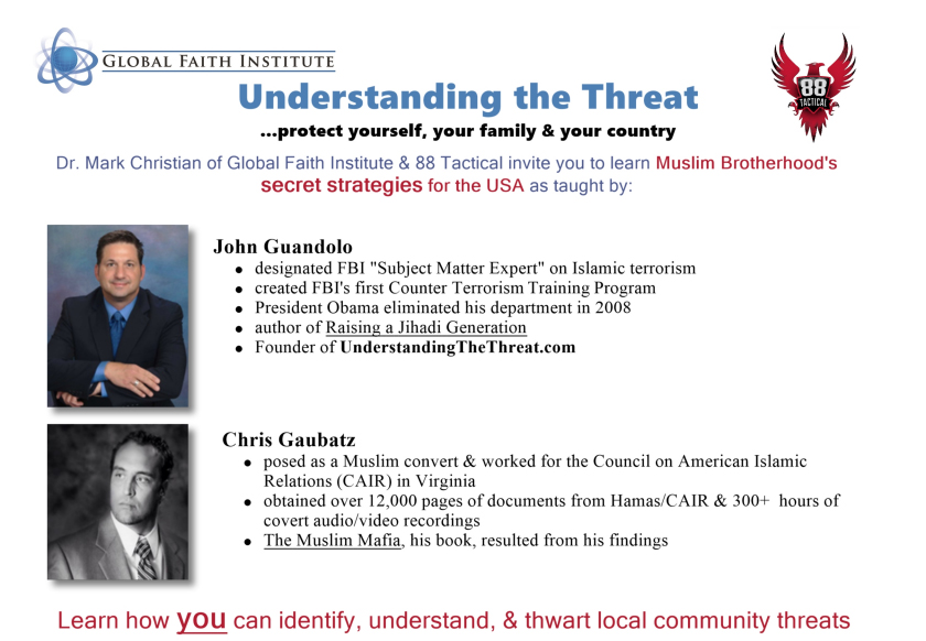 Understand the Threat: 2 days, 4 sessions
